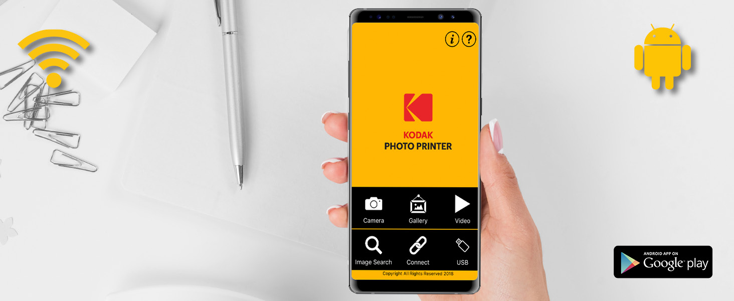Kodak dock photo Printer android