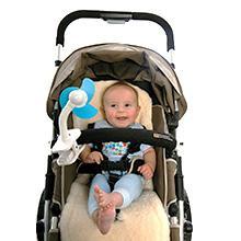 Amazon Com Dreambaby Stroller Fan White Blue Baby
