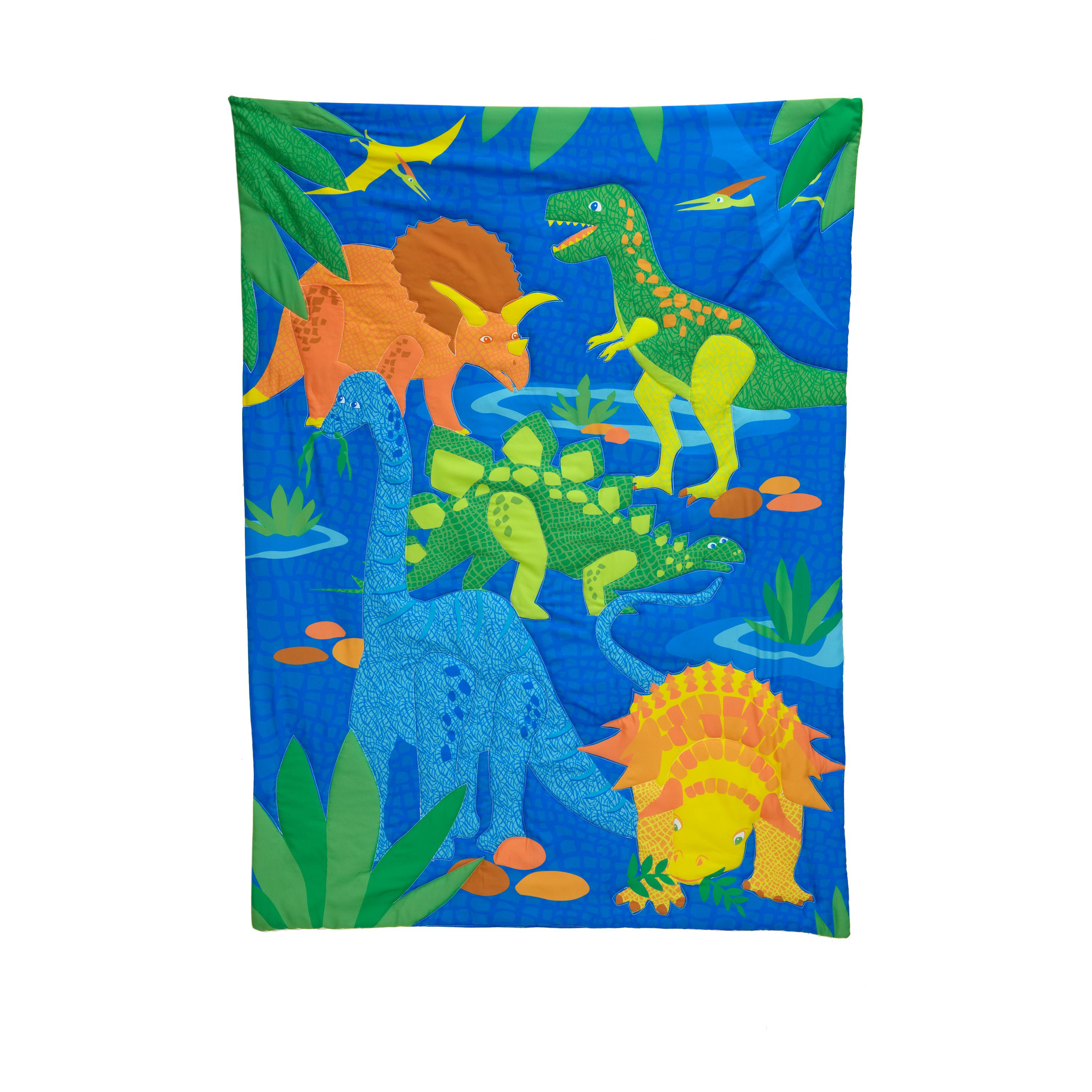 Everything Kids 4 Piece Toddler Bedding Set Dinosaurs Amazonca Baby