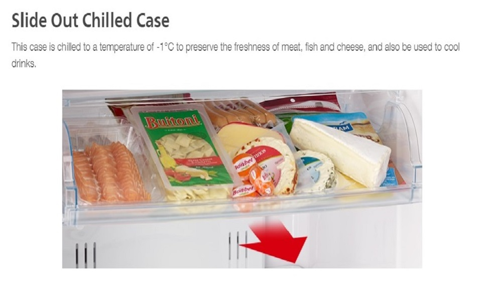 Slide Out Chilled Case