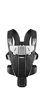 3faa3a4d39f BABYBJÖRN Baby Carrier Miracle (Black Silver