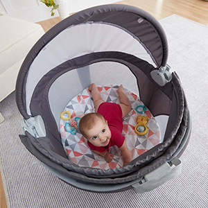 Amazon.com : Fisher-Price On-The-Go Baby Dome, Rosy