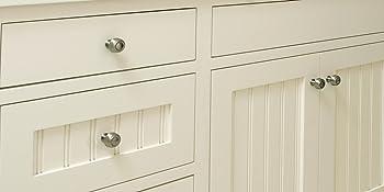 weatherd nickel cabinet knobs