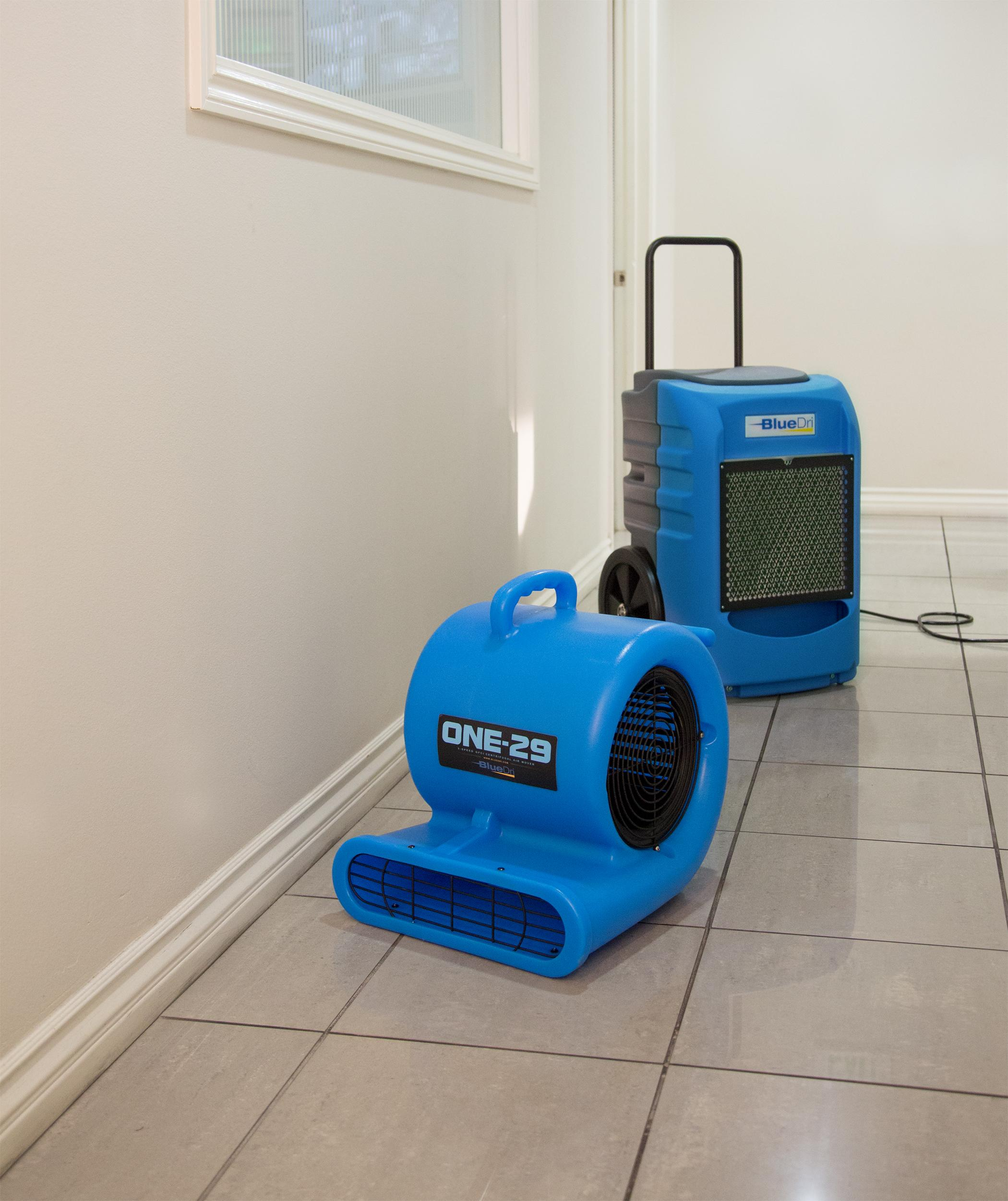 Bluedri One 29 Air Mover Etl Listed Carpet Dryer 3 Speed 2