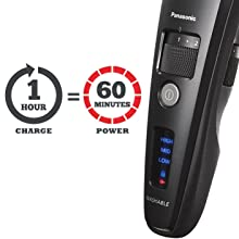 Corded/Cordless Hair Clipper Convenience