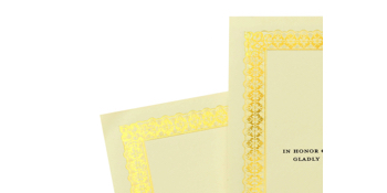 180 Total Pieces 60 Gold Foil Certificate Papers and 60 Gold Award Seals Includes 60 Black Certificate Holders Gartner Studios Certificate Kit