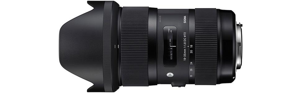 Sigma 18-35mm F1.8 DC HSM | ART