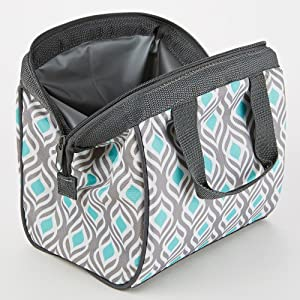 Amazon Com Fit Amp Fresh Charlotte Insulated Lunch Bag For