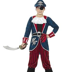 Deluxe Pirat Captain Kostüm