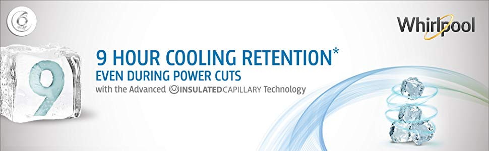 9 Hours cooling Retention*