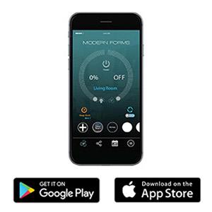 Modern Forms, Modern Forms Fans, Modern Forms Smart Fans, Smart Fans, Fan App, Apple Fan