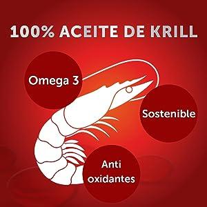 Schiff Megared es un complemento alimenticio que contiene 100% aceite puro de Krill Antártico, pequeños crustáceos que crecen en las aguas frías de la ...