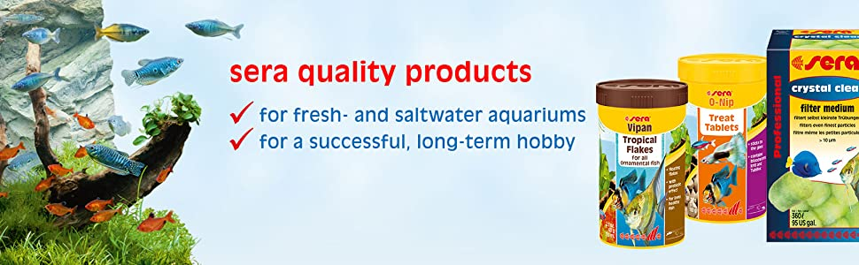 sera stick-on tabs for freshwater and marine aquariums
