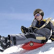 snow sled easy for kids safe