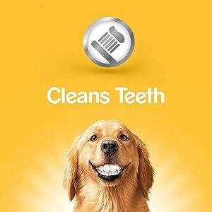 Fresh Bites; Cleans teeth; Triple action of DentaStix Bites, Freshens
