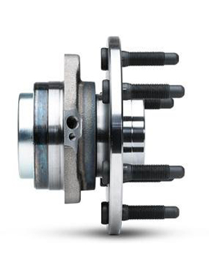 Hub assembly side view