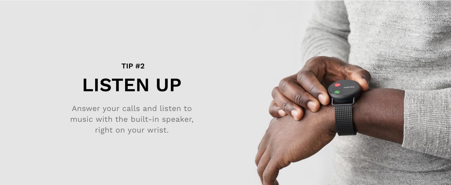 Skagen falster 3 smartwatch, Call, Music Control, Speakers