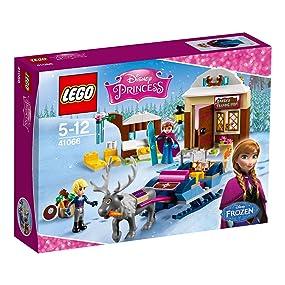 LEGO - Aventura en Trineo de Anna y Kristoff, (41066)