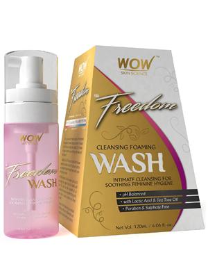 WOW Freedom Cleansing Foam Wash