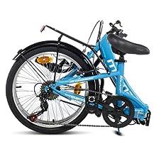 bici bicicleta plegable urbana ligera aluminio shimano decathlon brompton moma bikes bh sprinter