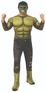 adult hulk costume