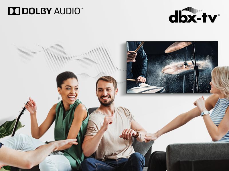 dbx-tv + Dolby Audio