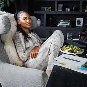 Woman chef Jamaican Chinese NBA wife black entrepreneur business executive mother cooking author