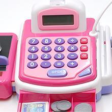 Caja registradora rosa Little Life Tachan