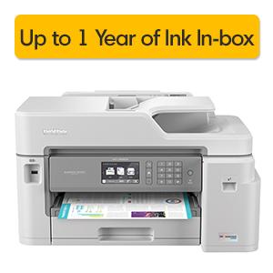 printer; all-in-one;inkjet; MFC-J5845DW; wireless; duplex; fax; mobile; wifi; cloud; high; ink; tank