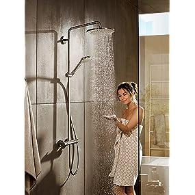 Hansgrohe colonne de douche showerpipe croma 280 mitigeur - Colonne de douche hansgrohe ...