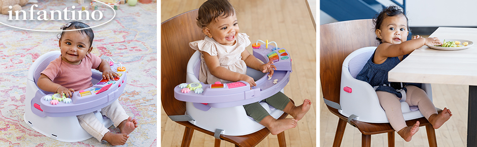 booster;seat;music;lights;toy;babies;baby;infantino