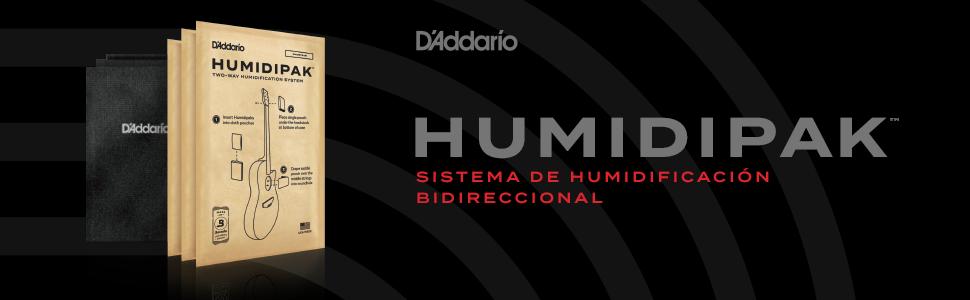 DAddario Humidikit - Paquete Humiditrak/Humidipak: Amazon.es ...