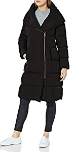 Taffeta Down Double Breasted Coat