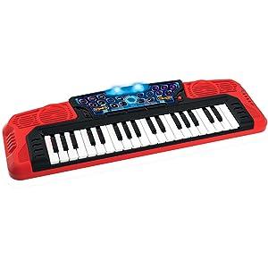 WinFun, guitarra eléctrica infantil, piano eléctrico infantil, micrófono eléctrico infantil, karaoke