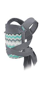 Infantino Flip Advanced 4 In 1 Convertible Carrier Light