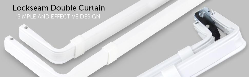 Lockseam Double Curtain