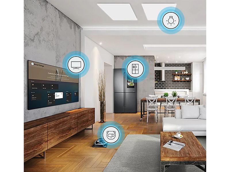 Home with various smart devices