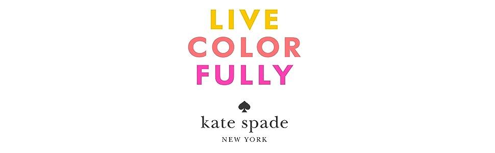 Amazoncom Kate Spade Live Colorfully Eau De Parfum Spray Womens
