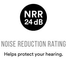 Noise Reduction Rating 24dB