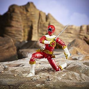 Power Rangers Lightning Collection Zeo Red Ranger Figure