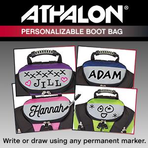 Amazon.com   Athalon PERSONALIZEABLE KIDS BOOT BAG BACKPACK - SKI ... 6e33a1b1a5522