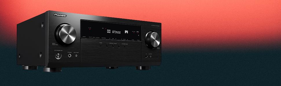 Pioneer VSX-934(S) Receptor AV 7.2 (160 W/Canal, 4K UltraHD, Dolby ...