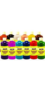 Assorted Colors School Smart Art Marker Conical Tip Pack of 200 School Specialty 086414