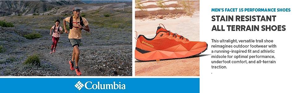 Columbia Men's Facet 15 Performance Trail Running Shoe