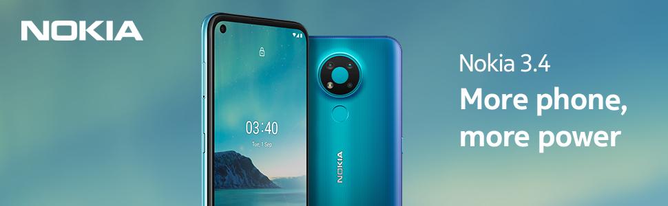 Nokia 3.4 Fjord hero