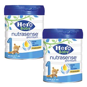 Hero Baby Nutrasense Premium 1 - Leche de Inicio en Polvo para ...