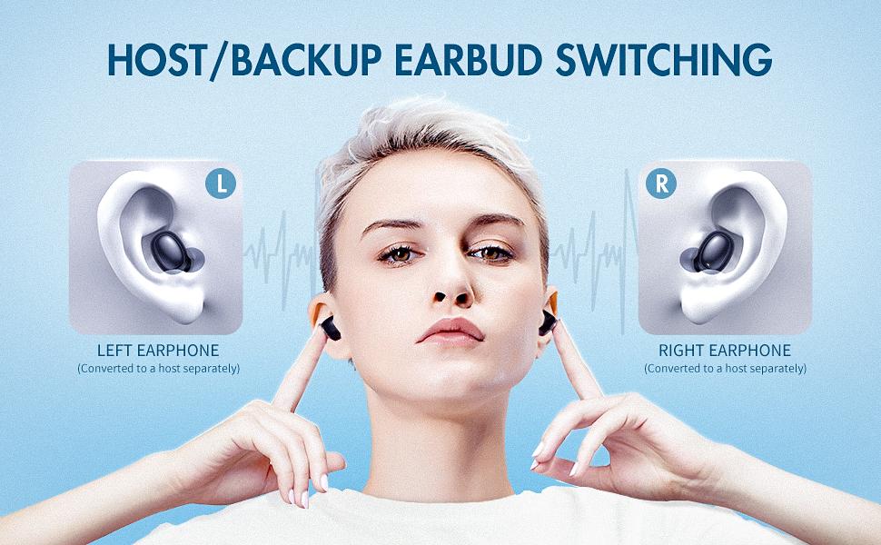 havit i95, smart pairing, tws, true wireless earbuds