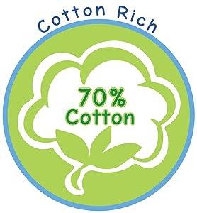 cotton rich sock