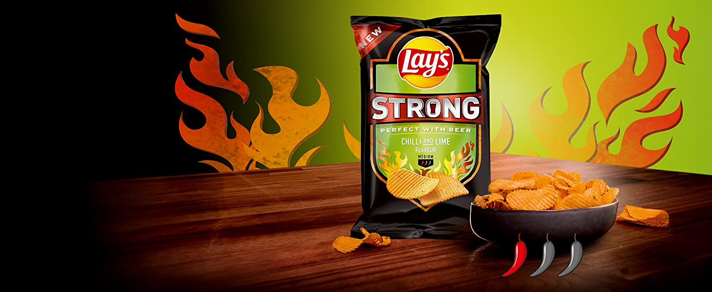 Lay's Strong Chilli Lime
