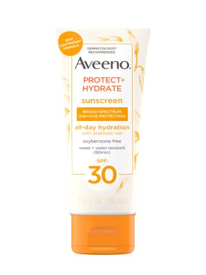Aveeno Protect + Hydrate Sunscreen Broad Spectrum Body Lotion SPF 30
